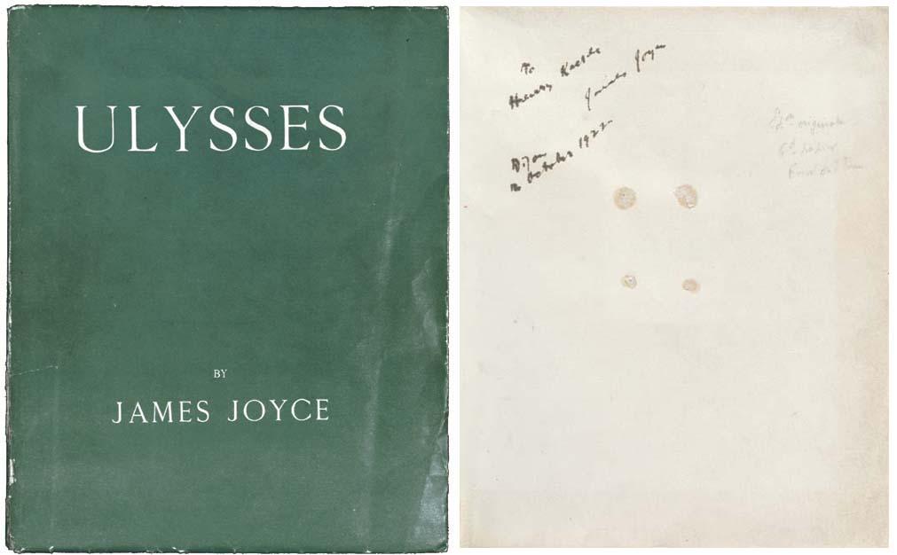 JOYCE, James. Ulysses. Paris: