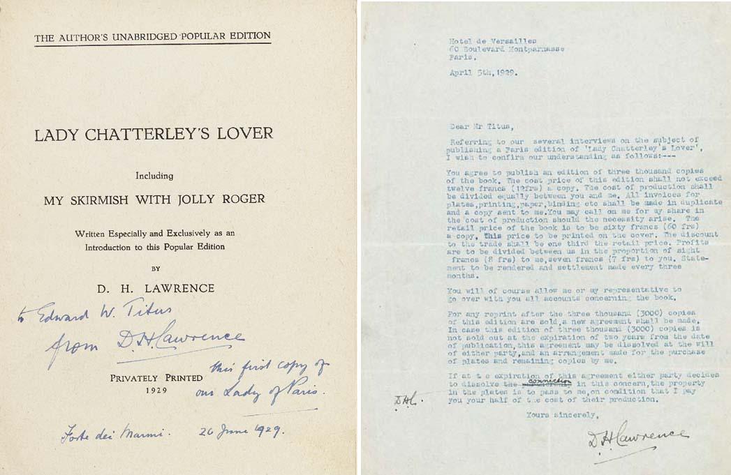 LAWRENCE, David Herbert. Lady