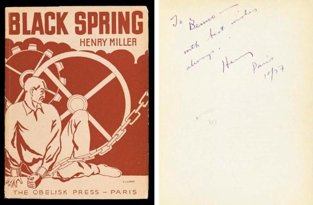 MILLER, Henry (1891-1980). Bla