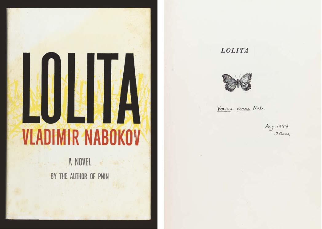 NABOKOV, Vladimir. Lolita. New
