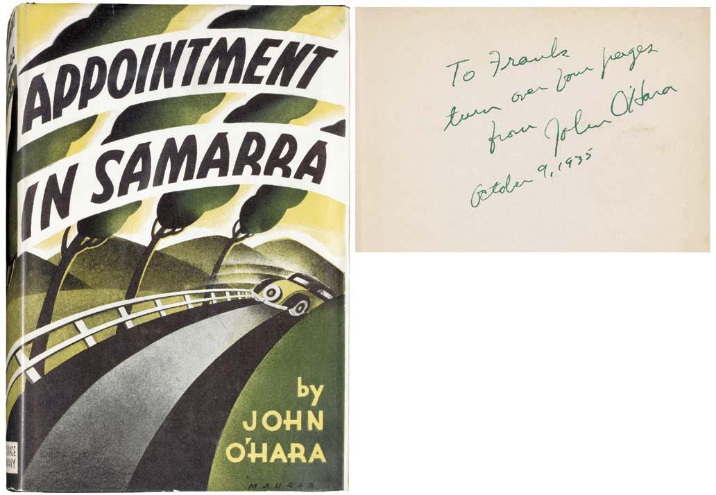 O'HARA, John (1905-1970). Appo