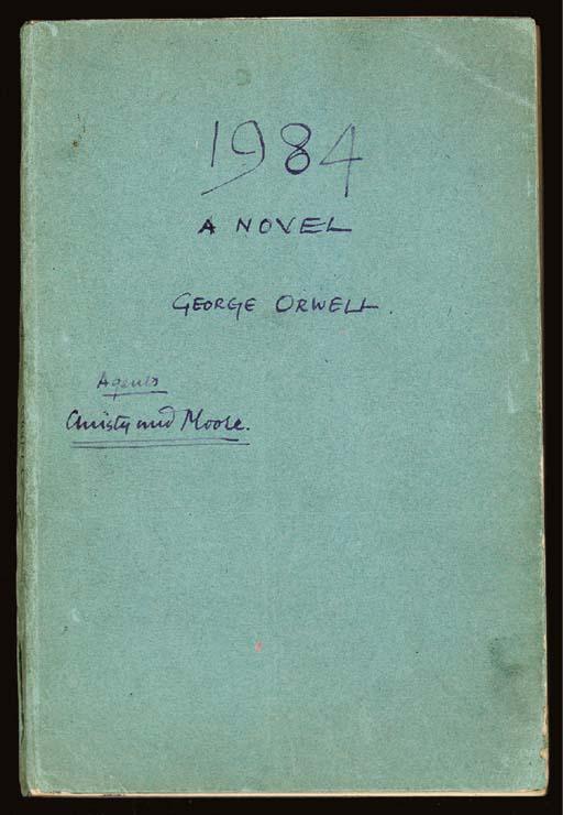 ORWELL, George (1903-1950). 19