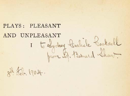 SHAW, George Bernard (1856-195