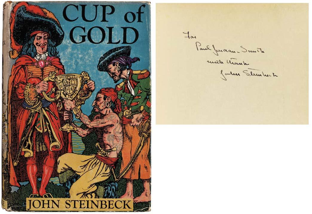 STEINBECK, John (1902-68). Cup