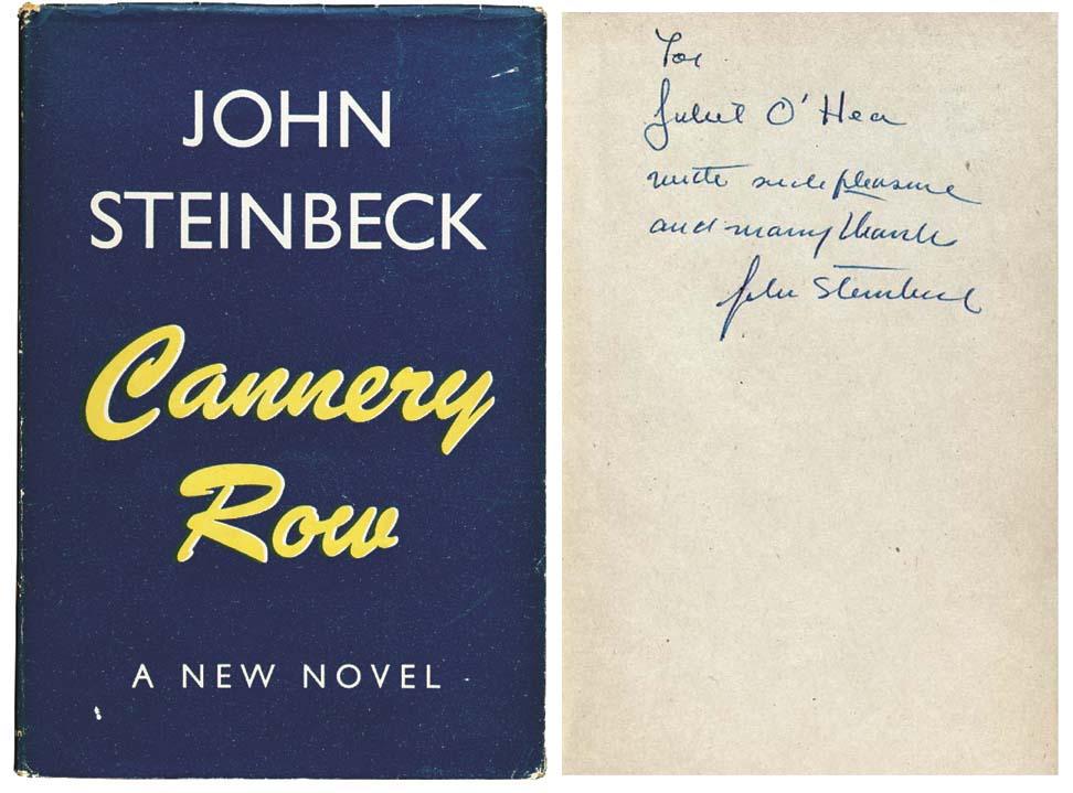 STEINBECK, John. Cannery Row.