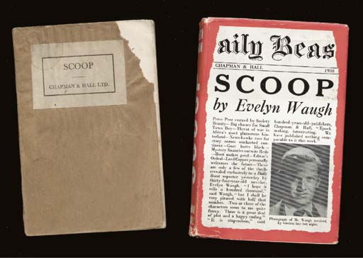 WAUGH, Evelyn. Scoop. A Novel.