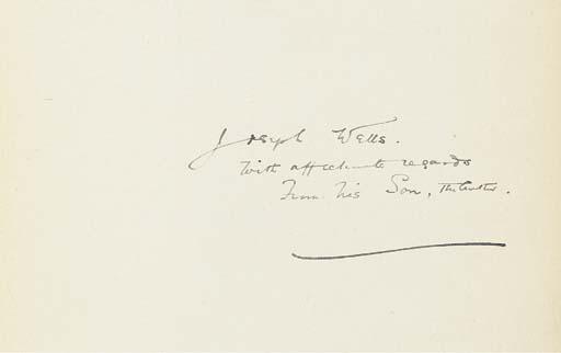 WELLS, H.G. (1866-1946). The I