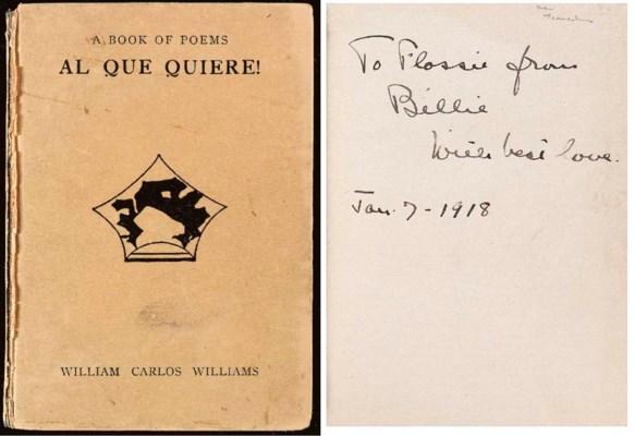 WILLIAMS, William Carlos. A Bo