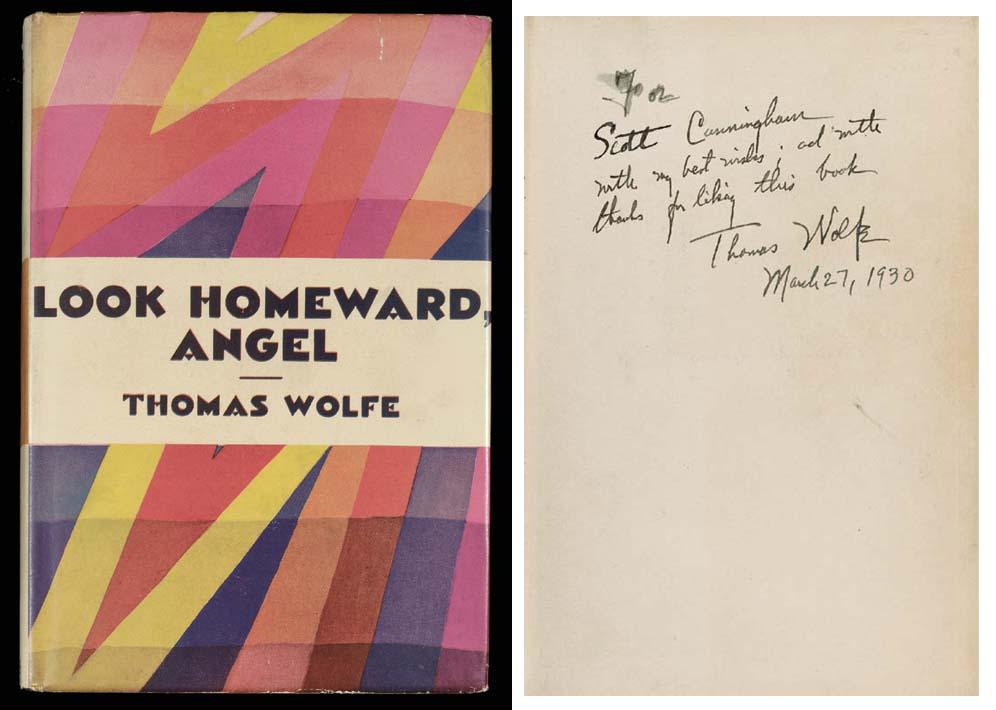 WOLFE, Thomas (1900-38). Look