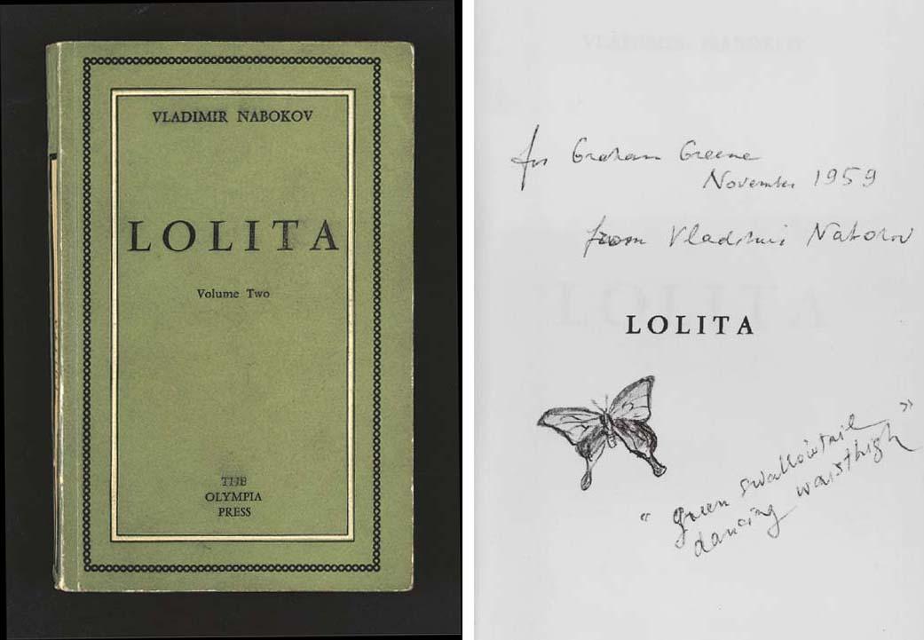 NABOKOV, Vladimir. Lolita. Par