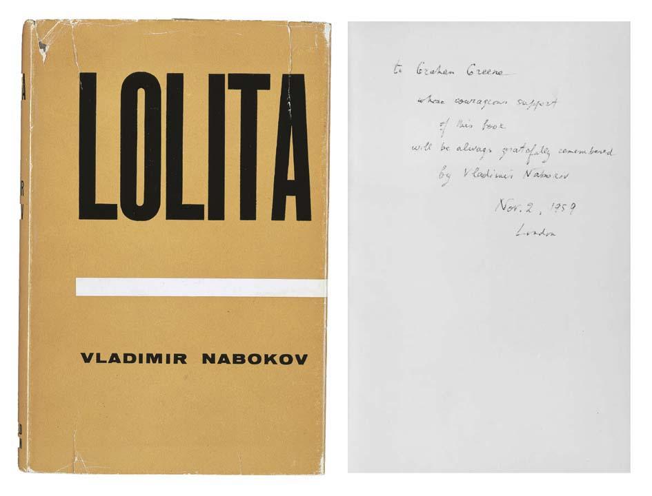 NABOKOV, Vladimir. Lolita. Lon
