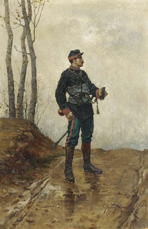 Etienne-Prosper Berne-Bellecour (French, 1838-1910)