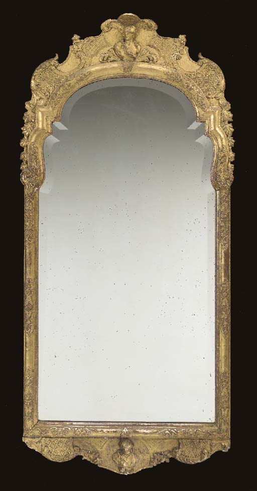 A REGENCE GILTWOOD AND COMPOSI