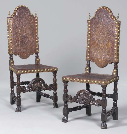 A PAIR OF IBERIAN BAROQUE EMBO