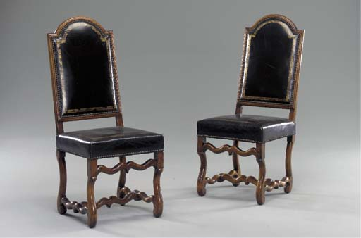 A SET OF FOUR LOUIS XIV FRUITW