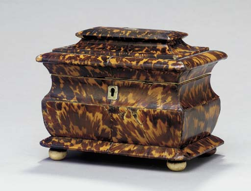 A REGENCY TORTOISESHELL AND IV