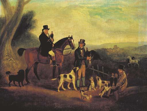 CIRCLE OF JAMES HOWE (1780-183