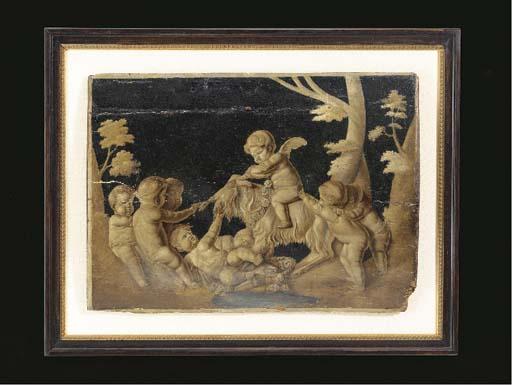 A LOUIS XVI PROVINCIAL GRISAIL