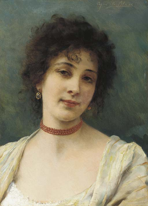 Eugene de Blaas (Austrian, 184