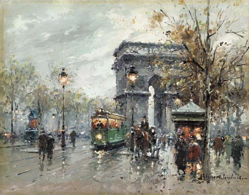 Antoine Blanchard (French 1910