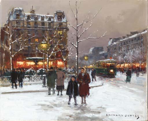 Edouard Leon Cortes (French, 1