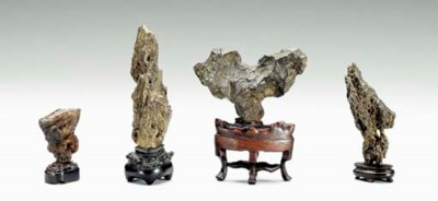 A GROUP OF FOUR MINIATURE SCHO