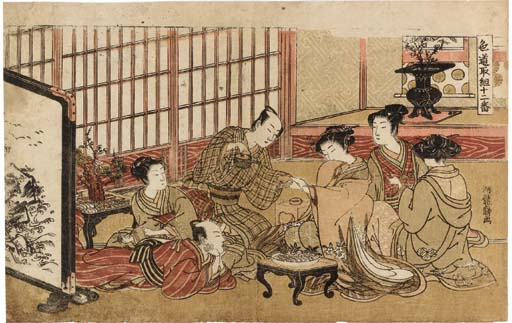 Isoda Koryusai (act.1768-88)