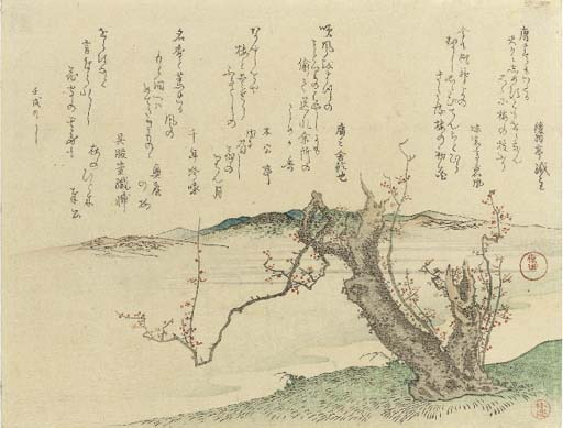 Kikugawa Eizan (1787-1867) Kub