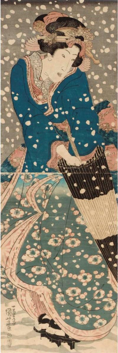 Kikugawa Eizan (1787-1867) Kei