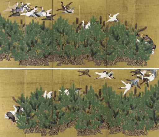 Kano Toshun (1747-1797)