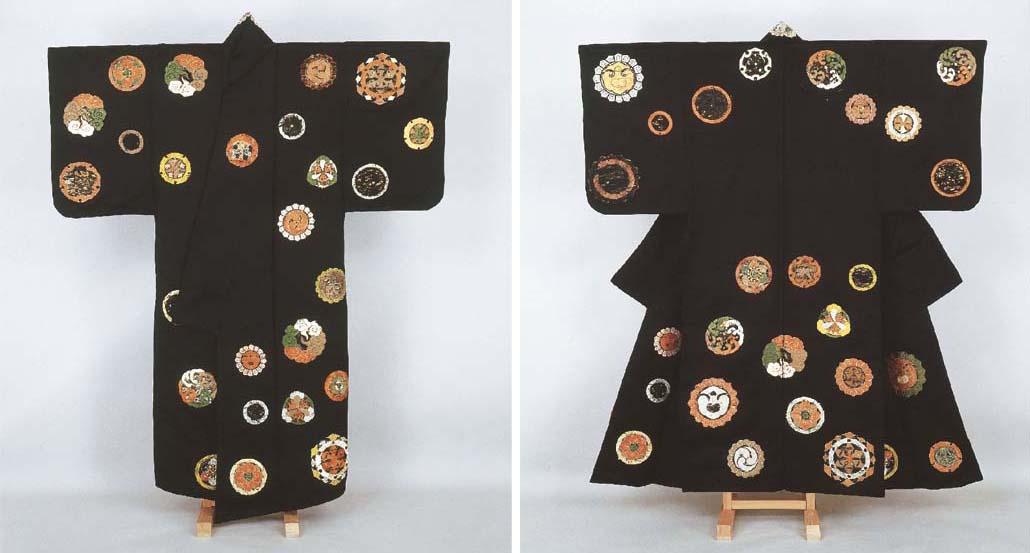 Noh costume (koshimaki) with a