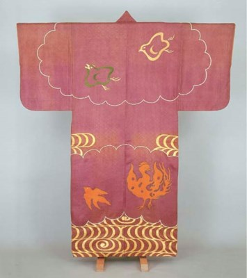 Noh costume (sashinuki) with d