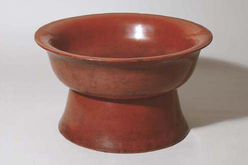 A Negoro Footed Bowl