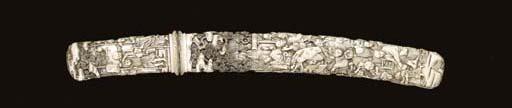 An Ivory Presentation Dagger (