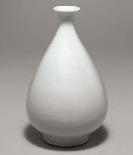 A White Porcelain Bottle
