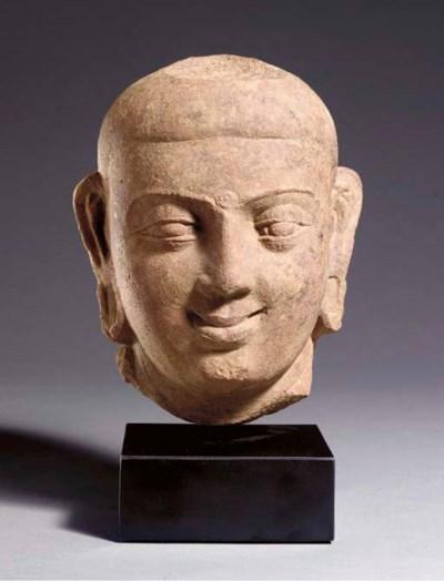 A Small Head of Buddha