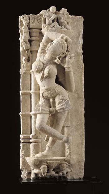 A Marble Figure of a Devata