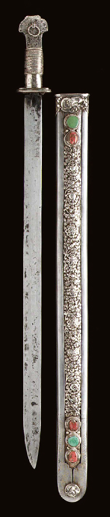 A Ceremonial Sword and Scabbar