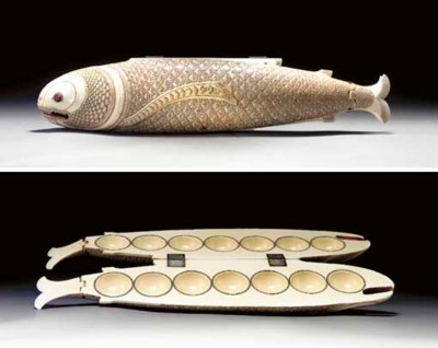 An Ivory Fish-Form Game, Olind
