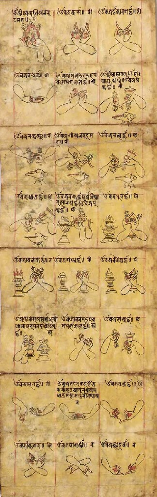 A Buddhist Tantric Text with E