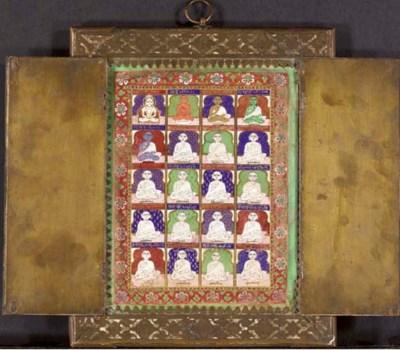 A Jain Shrine