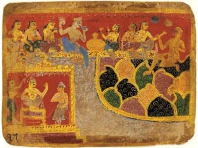 A Leaf from an Early Bhagavata