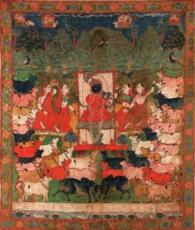 A Pichhavai of Gopastami