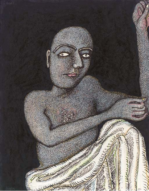 Jogen Chowdhury (b. 1939)
