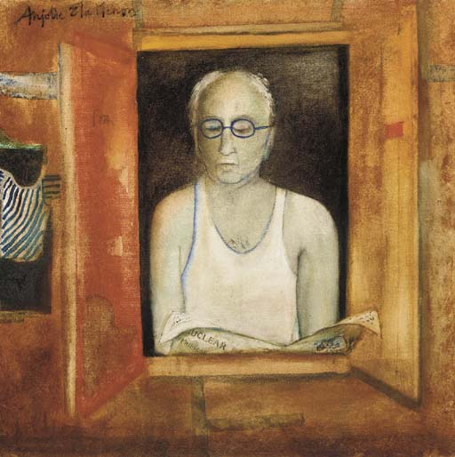 Anjolie Ela Menon (b. 1940)