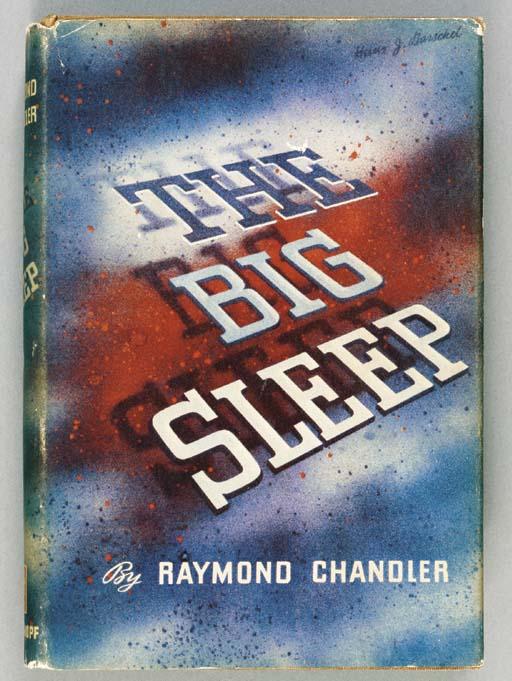 CHANDLER, Raymond (1888-1959).