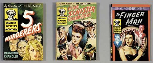 CHANDLER, Raymond. Five Murder