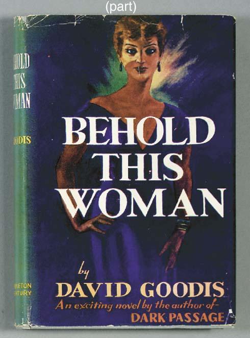 GOODIS, David. Behold this Wom