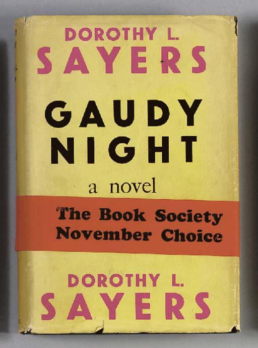 SAYERS, Dorothy L. Gaudy Night