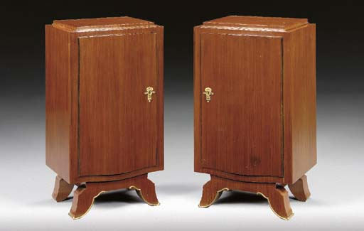 A PAIR OF ROSEWOOD AND GILT-BR